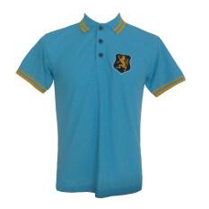 ราคา เสื้อโปโลสีฟ้าอ่อน ปักหน้าอก สิงห์ ปักเลข8 แขนขวา สีฟ้าอ่อน Unbranded Generic ใหม่