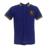 ขาย เสื้อโปโลสีน้ำเงิน ปักหน้าอก สิงห์ ปักเลข8 แขนขวา สีน้ำเงิน Unbranded Generic ใน กรุงเทพมหานคร