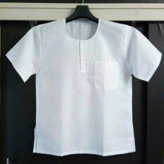 ขาย เสื้อผ้าป่านเนื้อดี สีขาว สำหรับ ผู้ใหญ่ ผู้สูงอายุ ผู้ปฎิบัติธรรม ออนไลน์ ใน กรุงเทพมหานคร