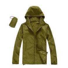 ซื้อ เสื้อผ้าร่มกัน Uv สีเขียวทหาร Unbranded Generic