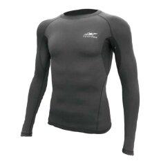 ซื้อ เสื้อรัดกล้ามเนื้อแขนยาว Spandex S 001 สีเทา ไซร์ L ออนไลน์ ถูก
