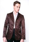 ซื้อ เสื้อสูทลำลอง B B Menswear Fashion Chocolate Brown ใน ไทย