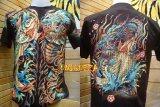 ขาย เสื้อยืดลายญี่ปุ่น มังกร ปลาคาร์พ เรืองแสงในที่มืด Glow In The Dark T Shirt ผู้ค้าส่ง