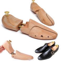 ซื้อ Eu 43 44 1Pair Mens Schima Wood Shoe Tree Shaper Keeper Wooden Stretcher Intl Unbranded Generic เป็นต้นฉบับ