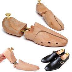 ซื้อ สหภาพยุโรป 45 ที่ 46 1 คู่รองเท้าไม้ต้นไม้ Schima บุรุษผู้เฉียบแหลมไม้คานหาม ออนไลน์