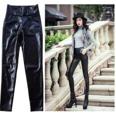 European And American Pu Leather Leggings Fashion Nampet Shop ถูก ใน นครปฐม