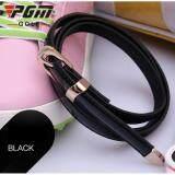 Exceed Lady Golf Belt Black Colour เข็มขัดหนังนักกอล์ฟผู้หญิง Pgm Pd008 สีดำ เป็นต้นฉบับ