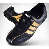 Exceed Unisex Golf Shoes Black Gold Colour รองเท้ากอล์ฟ Pgm สีดำแถบทอง Xz001 Size Eu 38 Eu 44 กรุงเทพมหานคร