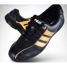 ขาย Exceed Unisex Golf Shoes Black Gold Colour รองเท้ากอล์ฟ Pgm สีดำแถบทอง Xz001 Size Eu 38 Eu 44 Pgm ผู้ค้าส่ง