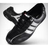ขาย ซื้อ ออนไลน์ Exceed Unisex Golf Shoes Black Silver Colour รองเท้ากอล์ฟ Pgm สีดำแถบเงิน Xz001 Size Eu 38 Eu 44