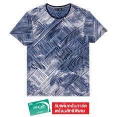 ซื้อ F F เอฟแอนด์เอฟ เสื้อยืดแขนสั้นพิมพ์ลาย สีฟ้า ออนไลน์ กรุงเทพมหานคร