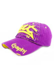 ขาย Fancyqube Hot Unisex Men S Women S Outdoor Sports Baseball Golf Tennis Hiking Ball Cap Hat Purple Yellow Intl