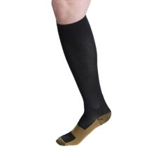 ขาย Fang Fang Copper Infused Compression Socks 20 30 Mmhg Graduated Men S Women S S Xxl Black Intl ใน จีน