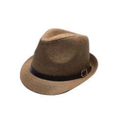 ราคา Fang Fang Fashion Mens Hat Summer Straw Hat Cap Panama Hat Cap Jazz Hat Brown Intl จีน