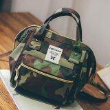 ซื้อ กระเป๋าเป้Fashion กระเป๋าสะพายหลัง Backpack No S2016 Army ออนไลน์