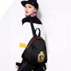 Fashion กระเป๋าเป้สะพายหลัง กระเป๋าสะพายหลังผู้หญิง Backpack Women No 10010 Black ใหม่ล่าสุด