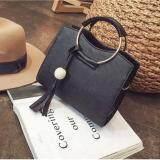 ขาย Fashion Bag กระเป๋า กระเป๋าถือสีดำ กระเป๋าสะพายสีดำสำหรับผู้หญิง รุ่น No 0218 สีดำ ผู้ค้าส่ง