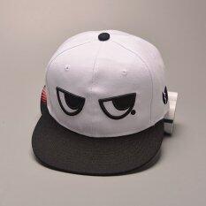 ทบทวน แฟชั่นเบสบอลหมวก Hip กระโดดหมวกสำหรับสุภาพสตรีกลางแจ้งหมวกตวัดกลับ สีขาว Unbranded Generic
