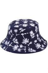 โปรโมชั่น แฟชั่นเก๋ ๆ สาวสาวเมเปิ้ลลีฟพิมพ์หมวกแก๊ปชายหาดฤดูเก็บหมวกกันแดดสีน้ำเงิน ระหว่างประเทศ ใน จีน