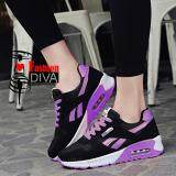 ขาย ซื้อ ออนไลน์ Fashion Diva รองเท้าสปอร์ตลำลอง สไตล์เกาหลี ลายเส้น ใส่นุ่ม เบา สบายเท้า