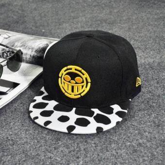 แฟชั่นเย็บปักถักร้อย SnapBack Boy หมวกฮิปฮอปปรับหมวกแก๊ปเบสบอลสำหรับทุกเพศสีเหลือง - INTL
