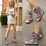 ซื้อ Fashion Fairy G*rl Rain Boots Knee High Spring And Autumn Rainboots Water Shoes Intl ใหม่ล่าสุด