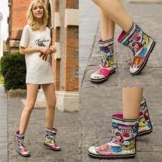 ส่วนลด Fashion Fairy G*rl Rain Boots Knee High Spring And Autumn Rainboots Water Shoes Intl Unbranded Generic จีน