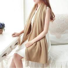 ทบทวน ที่สุด Fashion G*rl Lady Soft Long Scarf Pashmina Wrap Shawl Scarves Cashmere Wrap