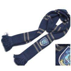 ราคา แฟชั่น Harry Potter ผ้าพันคอผู้ชายเรขาคณิตผ้าพันคอผ้าพันคอ Navy ใน จีน