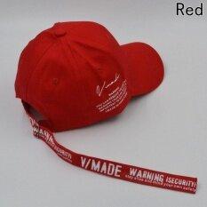 แฟชั่นผู้ชายผู้หญิงยาวเบสบอลสะโพกกระโดดหมวกยอดหมวกตวัดกลับสีแดง-นานาชาติ.
