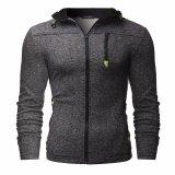 ซื้อ Fashion Men S Winter Hoodie Sweater Jacket Warm Hooded Zipper Coat Black Intl ออนไลน์ ถูก