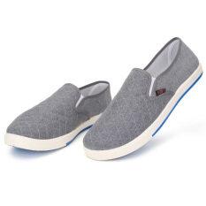 ขาย Fashion Mens Canvas Driving Shoes Breathable Slip On Loafers Casual Cotton Shoes Unbranded Generic เป็นต้นฉบับ