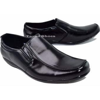 รองเท้าคัทชูชาย Fashion รุ่น MJ268 (สีดำ)-