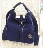 ขาย Fashion Multi Functional Shoulder Bag Women S High Capacity Cross Body Bag Waterproof Nylon Shoulder Bag Dark Blue Intl