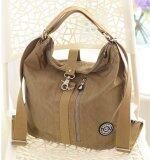 ซื้อ Fashion Multi Functional Shoulder Bag Women S High Capacity Cross Body Bag Waterproof Nylon Shoulder Bag Khaki Intl