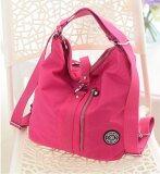ซื้อ Fashion Multi Functional Shoulder Bag Women S High Capacity Cross Body Bag Waterproof Nylon Shoulder Bag Rose Red Intl ออนไลน์