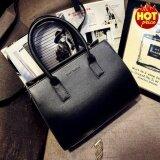 โปรโมชั่น Fashion กระเป๋าถือ พร้อมสายสะพาย กระเป๋าสะพาย แบบมีหูหิ้ว รุ่น No 02226 สีดำ กรุงเทพมหานคร