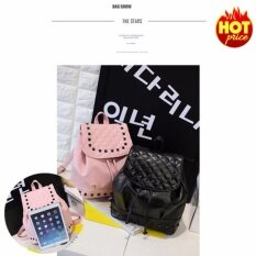 ขาย Fashion กระเป๋าสะพายข้าง กระเป๋าเป้ผ้าไนลอน รุ่น No 02255 Black