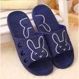 ราคา Fashion Sandals Rabbit Shoes รุ่นT2 รองเท้าแตะแฟชั่นเกาหลีสำหรับผู้หญิง สีกรมท่า) Fashion ใหม่
