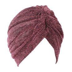 แฟชั่น Nisex ผ้าโพกหัวที่คาดผมเงาความคิดสร้างสรรค์อุ่นสบายหมวกคริสต์มาสของขวัญสี: กุหลาบสีแดง - นานาชาติ By Qimiao Store.