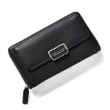 ขาย Fashion Women Clutch Pu Leather Shoulder Solid Ladies Bags Chain Bag (Black Intl ออนไลน์ ใน จีน