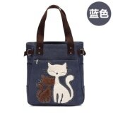 ขาย ซื้อ Fashion Women Handbags Canvas Large Shoulder Bags Desinger Ladies Tote Bags For Shopping Travel Bags Bolsa Feminina Intl