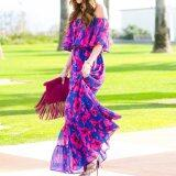 ขาย Fashion Women Summer Vintage Boho Long Maxi Party Beach Dress Floral Sundress Intl
