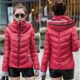 ราคา Fashion Women Warm Winter Thicken Coat Hooded Overcoat Long Jacket Outwear Red Intl เป็นต้นฉบับ
