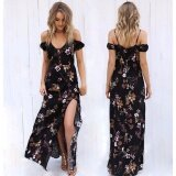 ขาย Fashion Women S Summer Boho Casual Cocktail Long Maxi Evening Party Beach Dress Intl จีน ถูก