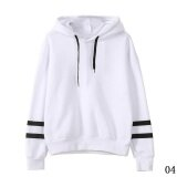 ขาย Fashion Womens Hoodie Sweatshirt Jumper Hooded Pullover Tops Blouse Long Sleeve Coat White Intl ถูก จีน