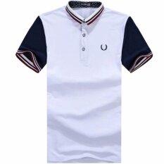 ขาย Frd Fasion Summer Mens Fashion Slim Sport Casual T Shirt Short Sleevedpolo Shirt Intl ใน จีน