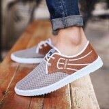 ราคา Fit รองเท้า รองเท้าผ้าใบผู้ชาย รุ่น M017 สีน้ำตาล Fit ออนไลน์