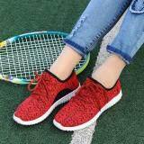 ส่วนลด Fit รองเท้า รองเท้าผ้าใบแฟชั่น รองเท้าผ้าใบผู้หญิง รุ่น W106 สีแดง Thailand