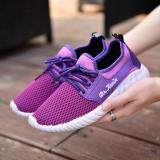 Fit รองเท้า รองเท้าผ้าใบแฟชั่น รองเท้าผ้าใบผู้หญิง รุ่น W108 สีม่วง Fit ถูก ใน Thailand